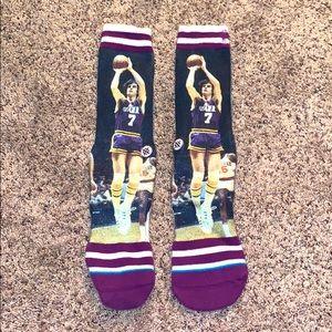 pete maravich stance socks